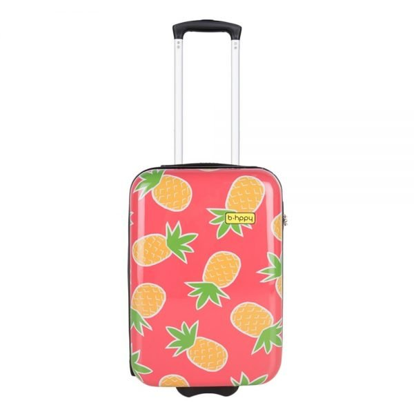 Bhppy Pretty Pineapple Trolley 55 roze Harde Koffer