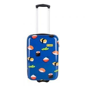 Bhppy Roll'ing Sushi Trolley 55 blue Harde Koffer
