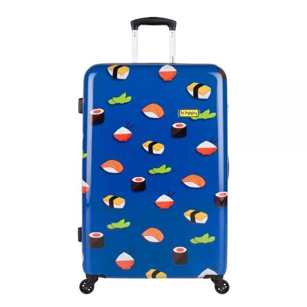 Bhppy Roll'ing Sushi Trolley 77 blue Harde Koffer