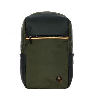 Bric's Eolo Urban Backpack olive backpack