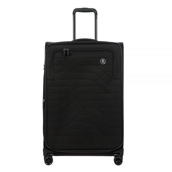 Bric's Itaca Medium Expandable Trolley black Zachte koffer