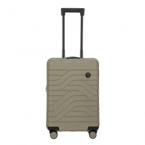 Bric's Ulisse Trolley Expandable 55 USB dove grey Harde Koffer