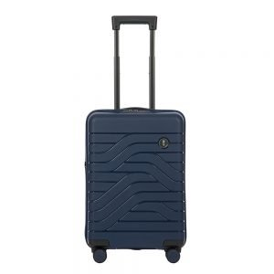 Bric's Ulisse Trolley Expandable 55 USB ocean blue Harde Koffer