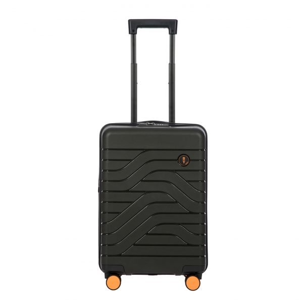 Bric's Ulisse Trolley Expandable 55 USB olive Harde Koffer