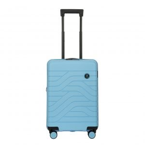 Bric's Ulisse Trolley Expandable 55 USB sky blue Harde Koffer