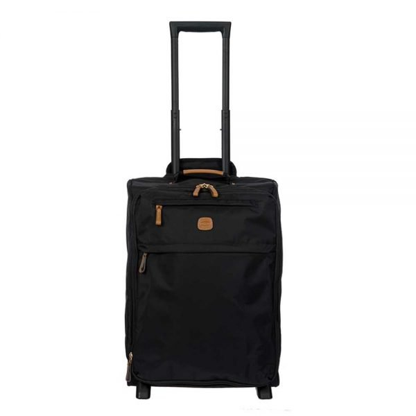 Bric's X-Travel Trolley 55 Expandable black Zachte koffer