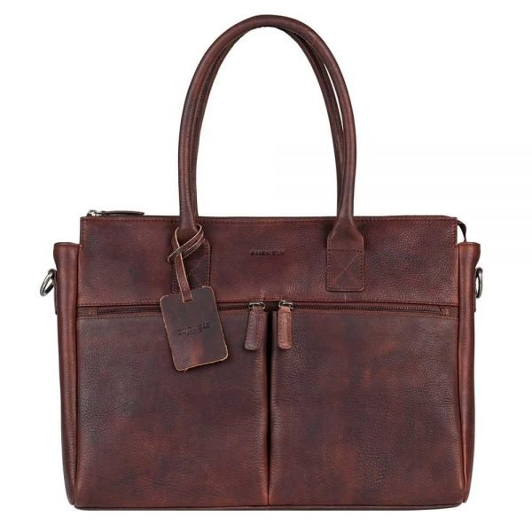 """Burkely Antique Avery Laptopbag 15.6"""" brown"""