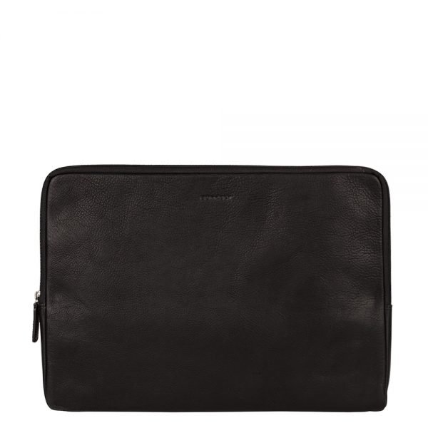 Burkely Antique Avery Laptopsleeve 15.6'' black Laptopsleeve