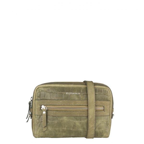 Burkely Croco Cody 5-Way Bag spring green Damestas