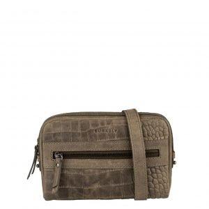 Burkely Croco Cody 5-Way Bag turtle green Damestas