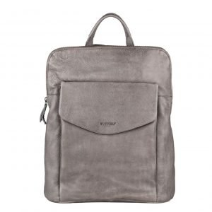 Burkely Just Jackie Backpack crossover grey backpack