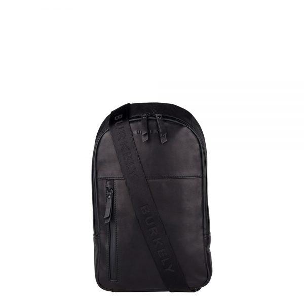 "Burkely Rain Riley Bodypack 9.7"" black backpack"