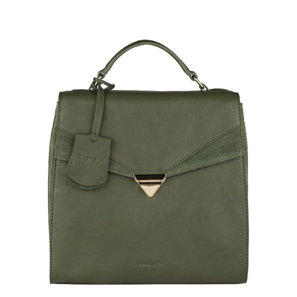 Burkely Secret Sage backpack 2-way green backpack