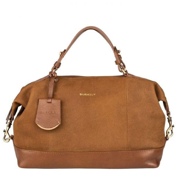 Burkely Soul Sky Handbag S leaf cognac Damestas