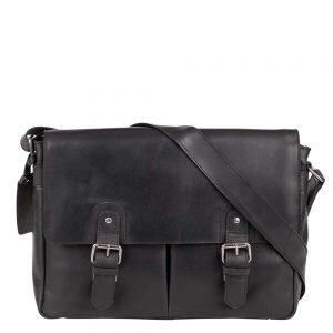 Burkely Vintage Glenn Messenger Bag black Herentas