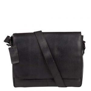 Burkely Vintage Juul Messenger Bag black Herentas