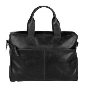 """Burkely Vintage Laptop Bag 15.6"""" black"""