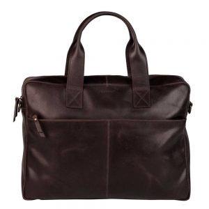 "Burkely Vintage Laptop Bag 15.6"" brown"