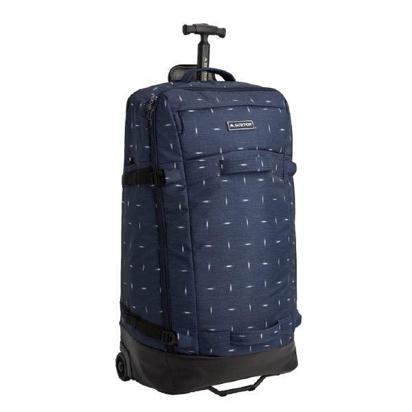 Burton Multipath Checked Reistas dressblue Handbagage koffer Trolley