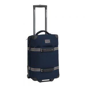 Burton Wheelie Flight Deck Reistas dress blue waxed Zachte koffer