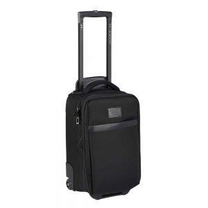 Burton Wheelie Flyer Reistas true black ballistic Handbagage koffer Trolley