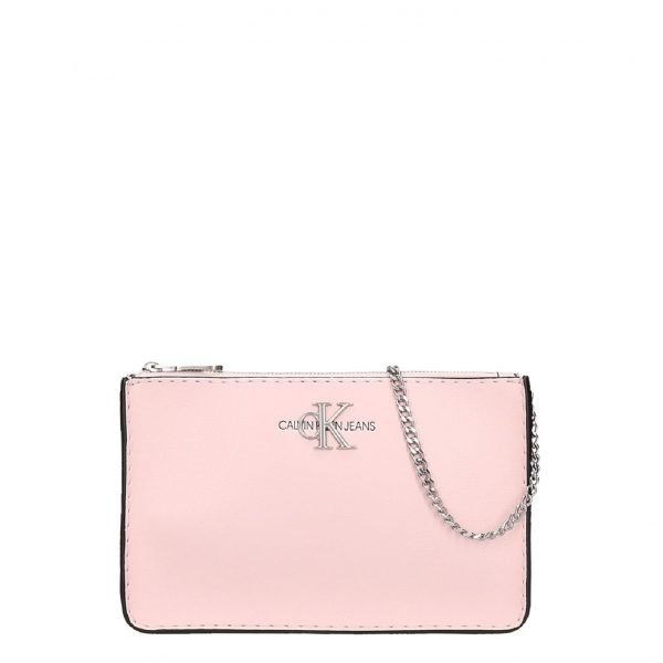 Calvin Klein EW Crossbody W/Chain Crystal Pink Damestas