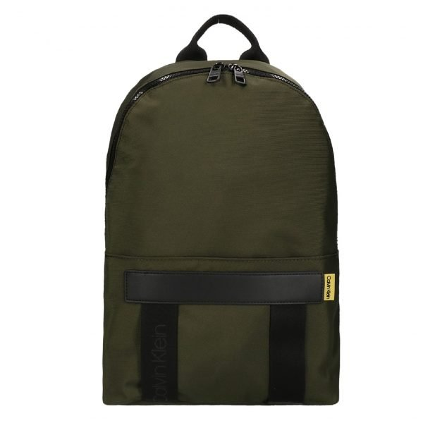 Calvin Klein Nastro Logo Backpack olive green backpack