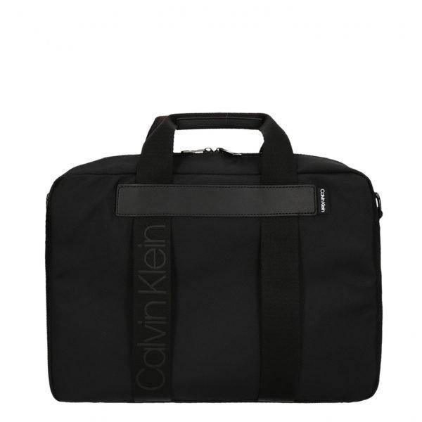 Calvin Klein Nastro Logo Laptopbag black