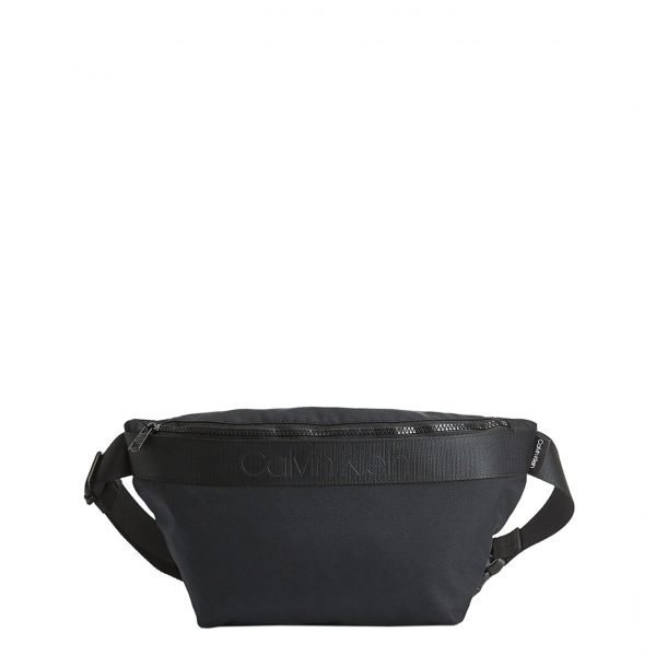 Calvin Klein Nastro Logo Waistbag blackHeuptas