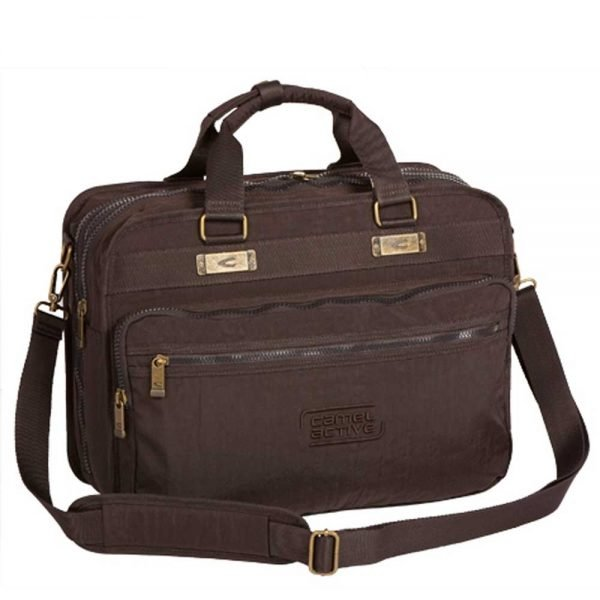 """Camel Active Journey Messenger Bag 17"""" brown"""