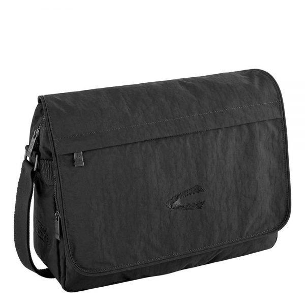 """Camel active Journey Messenger Bag 15"""" black"""