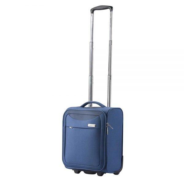 CarryOn Air Underseater Trolley 42 steel blue Zachte koffer