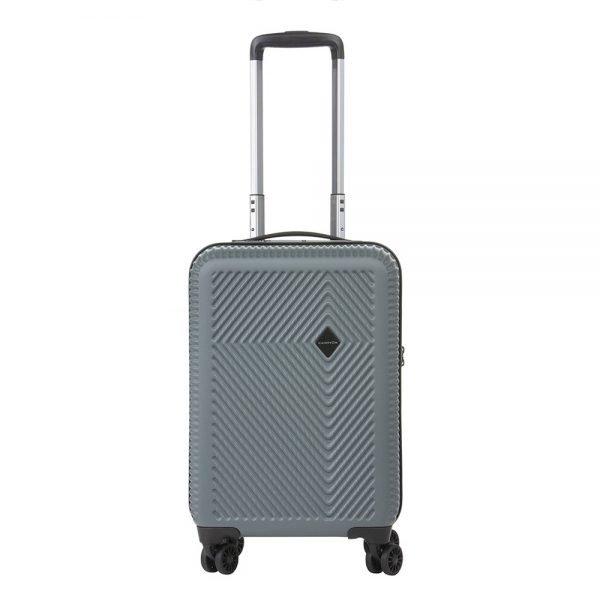 CarryOn Connect 4 Wiel Trolley 55 USB dark grey Harde Koffer