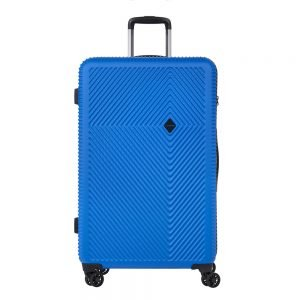 CarryOn Connect 4 Wiel Trolley 77 blue Harde Koffer