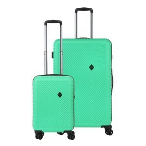 CarryOn Connect Trolleyset 2pc green