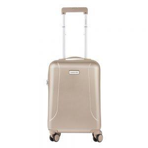 CarryOn Skyhopper 4 Wiel Trolley 55 champagne Harde Koffer