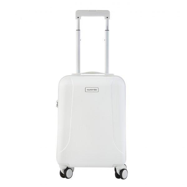 CarryOn Skyhopper 4 Wiel Trolley 55 white Harde Koffer