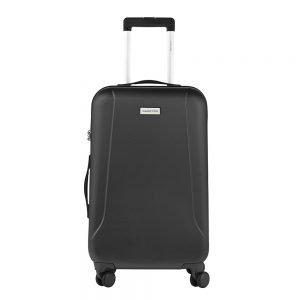 CarryOn Skyhopper 4 Wiel Trolley 68 black Harde Koffer