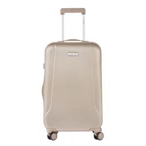 CarryOn Skyhopper 4 Wiel Trolley 68 champagne Harde Koffer