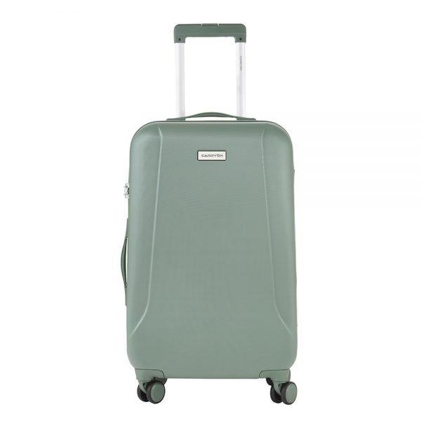 CarryOn Skyhopper 4 Wiel Trolley 68 olive Harde Koffer