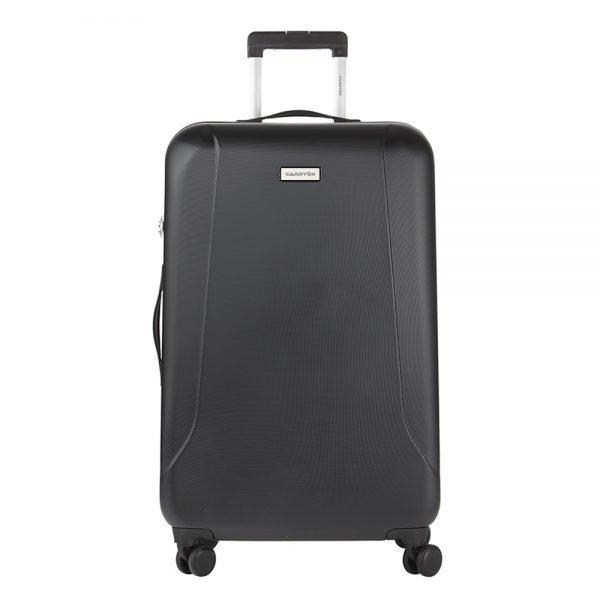 CarryOn Skyhopper 4 Wiel Trolley 78 black Harde Koffer