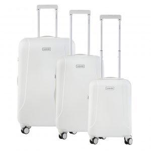 CarryOn Skyhopper Trolleyset 3pcs TSA white
