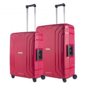 CarryOn Steward Trolleyset 2pc red