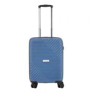 CarryOn Transport 4 Wiel Trolley 55 blue Harde Koffer