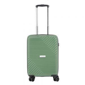 CarryOn Transport 4 Wiel Trolley 55 olive Harde Koffer