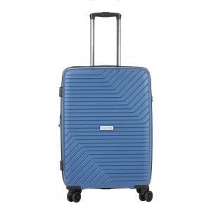 CarryOn Transport 4 Wiel Trolley 67 Expandable blue Harde Koffer