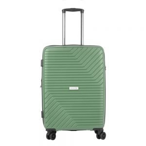 CarryOn Transport 4 Wiel Trolley 67 Expandable olive Harde Koffer