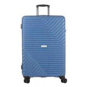 CarryOn Transport 4 Wiel Trolley 78 blue Harde Koffer