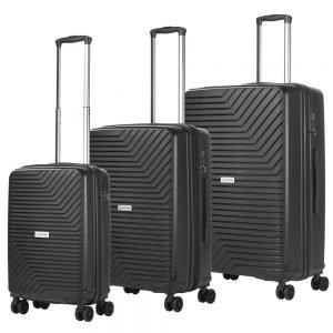 CarryOn Transport Trolleyset 3pcs black