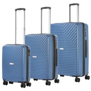 CarryOn Transport Trolleyset 3pcs blue